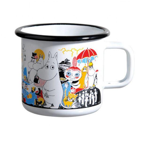 Moomin Enamel Mug - Tove's Jubilee