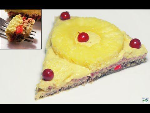 Crostata alla Crema di Mango - Veg Raw Food (Crudismo)