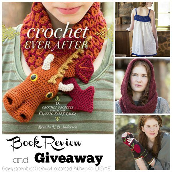 Crochet Ever After by Brenda K.B. Anderson.  Book review and giveaway.  One winner will recieve an ebook version of this book.  Giveaway ends Thursday September 10, 2015.