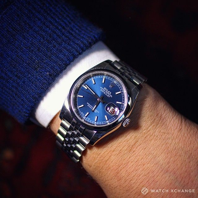 Rolex Datejust 36 Blue