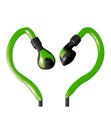 Take a look at this Green Active Sport Earbuds by Vibe Sound on #zulily today! $12 !!