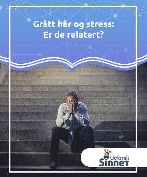 Grått hår og stress: Er de relatert?   Hvorfor blir håret vårt grått? Er det bare på grunn av alder, eller er grått hår og #stress relatert til #hverandre? Lær mer i denne #artikkelen.  #Kuriosa