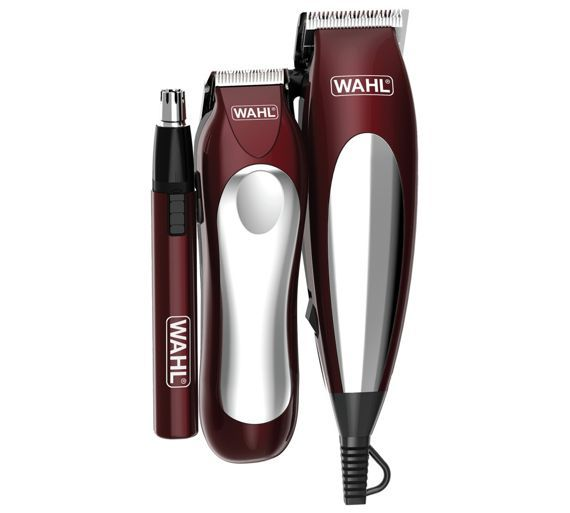 Buy Wahl Hair Clipper Grooming Set - Red at Argos.co.uk, visit Argos.co.uk to shop online for Grooming kits, Men's beard trimmers and hair clippers, Health and beauty