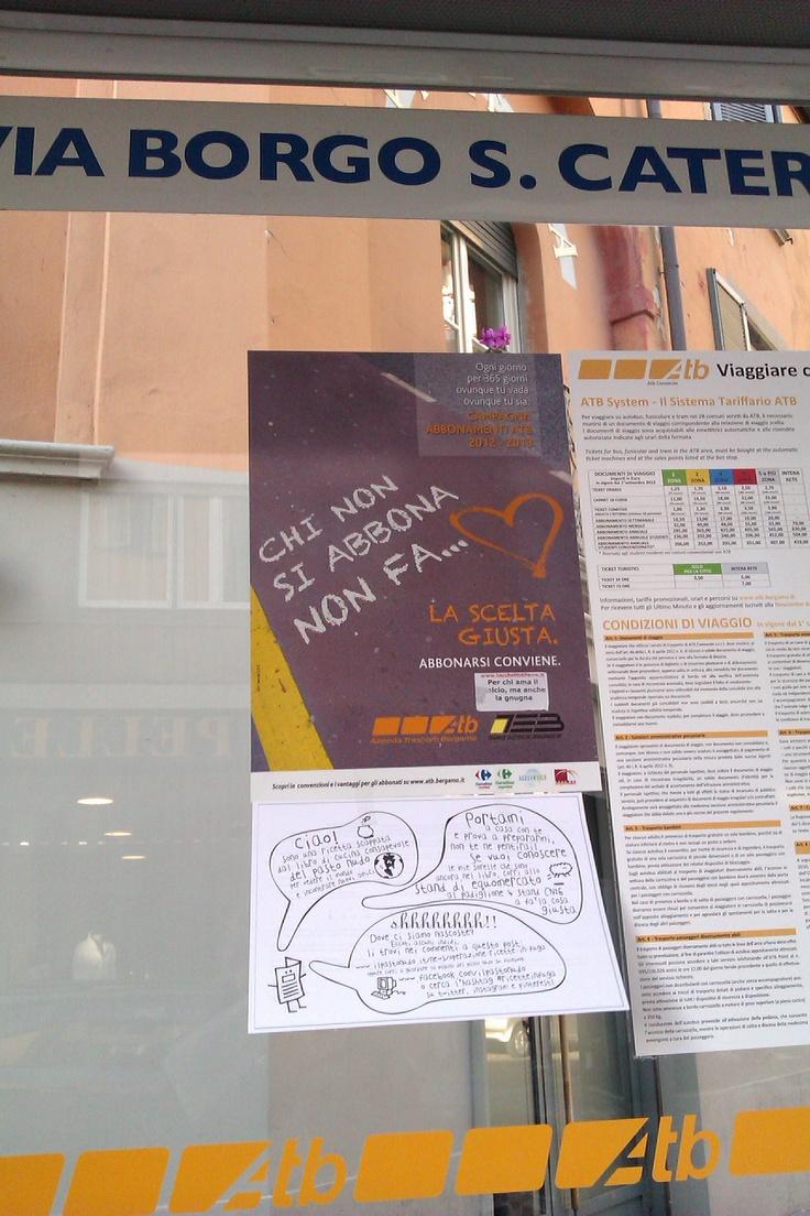 Ancora #ricetteinfuga! Ancora in Borgo Santa Caterina, a Bergamo... Le trovate?