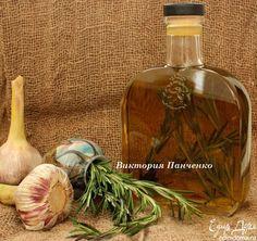 Оливковое масло с чесноком и розмарином | Кулинарные рецепты от «Едим дома!»