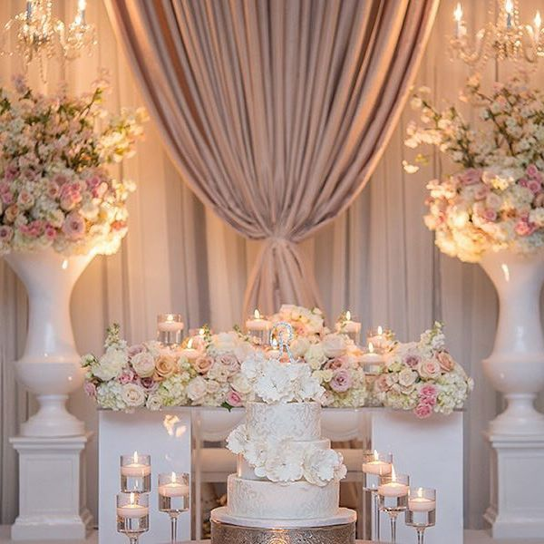 Kicking off #WeddingWednesday with this #Toronto couple's #sweetheart table that…