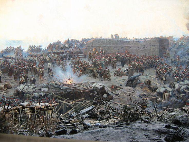 Guerre de Crimée - Le Siège de Sébastopol (Franz Roubaud 1904)