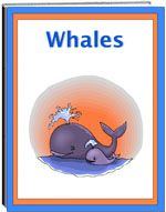 Thematic Unit - Whales - This is a unit about a fascinating mammal, the whale. It describes the various kinds of whales: blue, narwhal, beluga, killer whale and others. It discusses the size, weight, and their habits. The unit includes worksheets: fill in the blank, criss cross, and word find.