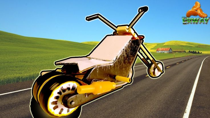 Своими руками.  Мини мотоцикл с электродвигателем .