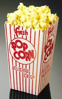 popcorn box.