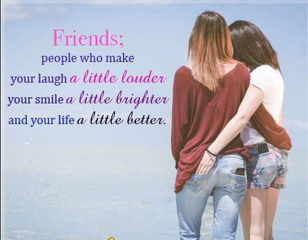 very short speech about friendship