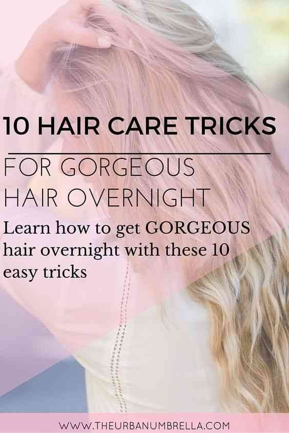 Overnight Hair Tricks   Wake up with GORGEOUS hair every single day with these 10 must-try tips!