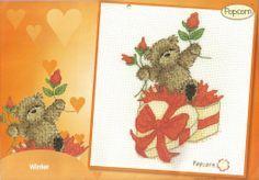 Popcorn Valentine Bear Popcorn Calendar Sept 2007 - Dec 2008 Hardcopy