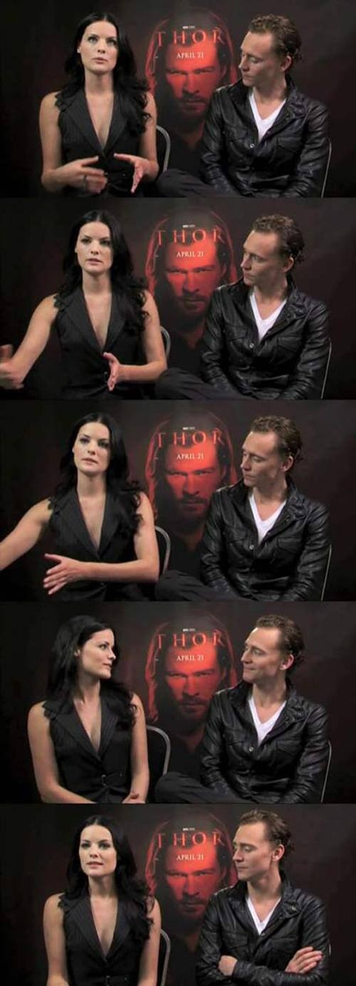 Well, Loki IS the god of mischief, so this all makes sense