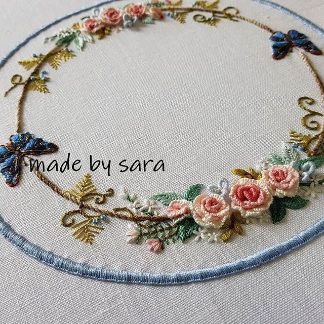#embroidery #embroiderydesign #dmc #needlework #needleart #nakış #howloverly #artwork #homedecoration #stitch #자수타그램 #손자수 #도일리 #자수 #도안작업 #린넨 #프랑스자수