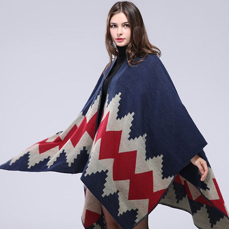New Arrivals Brand Designer High Qualtiy Cashmere Women's Winter Scarf Fashion Plaid Lady's Poncho Free Shipping