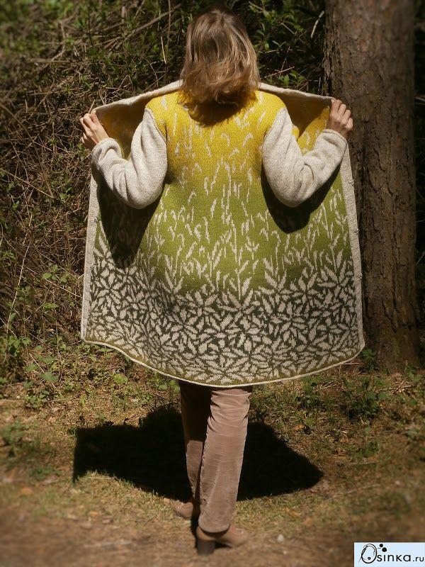 Fair Isle knitted coat                                                                                                                                                                                 More