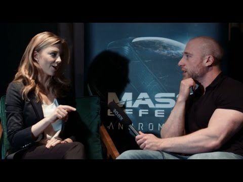 Natalie Dormer Interview - Voicing Mass Effect Andromeda's Dr Lexi T'Perro - YouTube