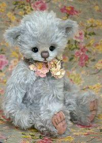 Three O'Clock Bears: 'TRULY' a pretty 'Nursery Bear' available