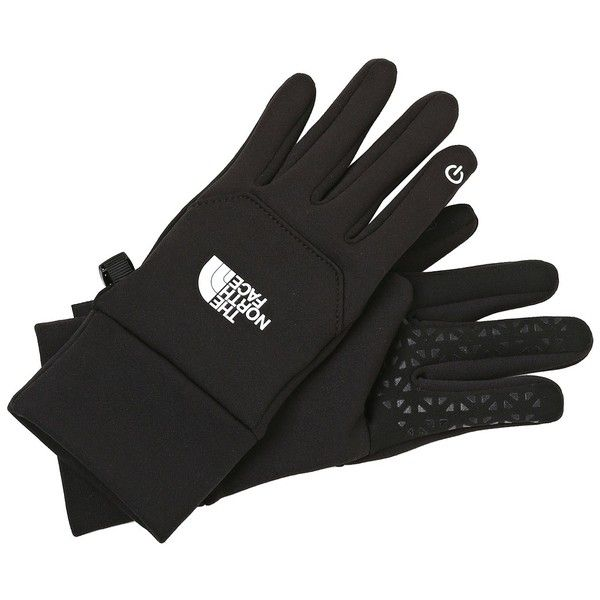 The North Face Women's Etip Glove (TNF Black) Extreme Cold Weather... (290 SEK) ❤ liked on Polyvore featuring accessories, gloves, the north face, touchscreen gloves, the north face® gloves, palm gloves and stretch gloves