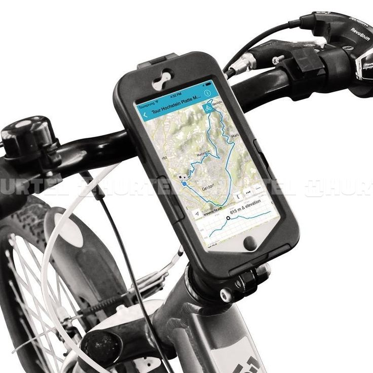PURO Bike Case W/Bike Holder - Etui i uchwyt rowerowy iPhone 6s / iPhone 6