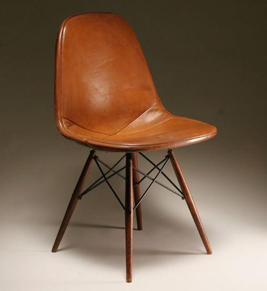 Eames Leather RAR Chair
