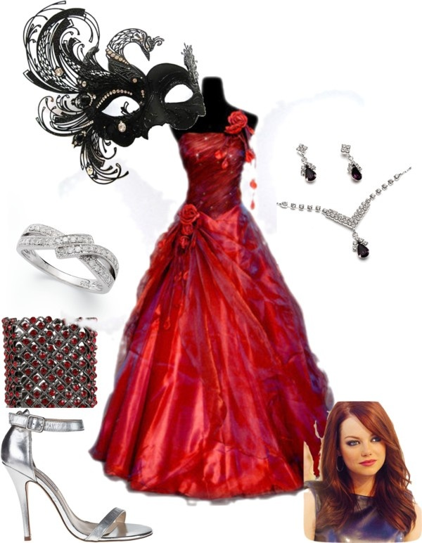 """Masquerade Ball Oufit"" by bigappler ❤ liked on Polyvore"