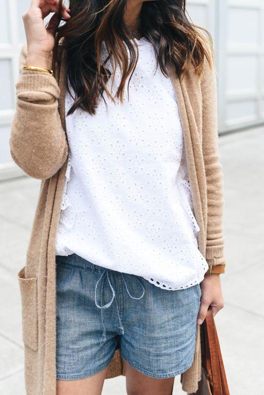 Best 25  Shorts outfits women ideas on Pinterest | Womens long ...