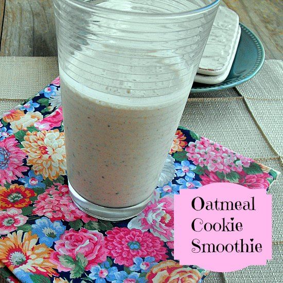 Oatmeal Cookie Smoothie Food Network