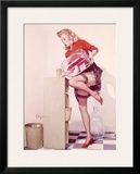 Pin-Up Girl: Sexy Office Impressão giclée emoldurada por Gil Elvgren
