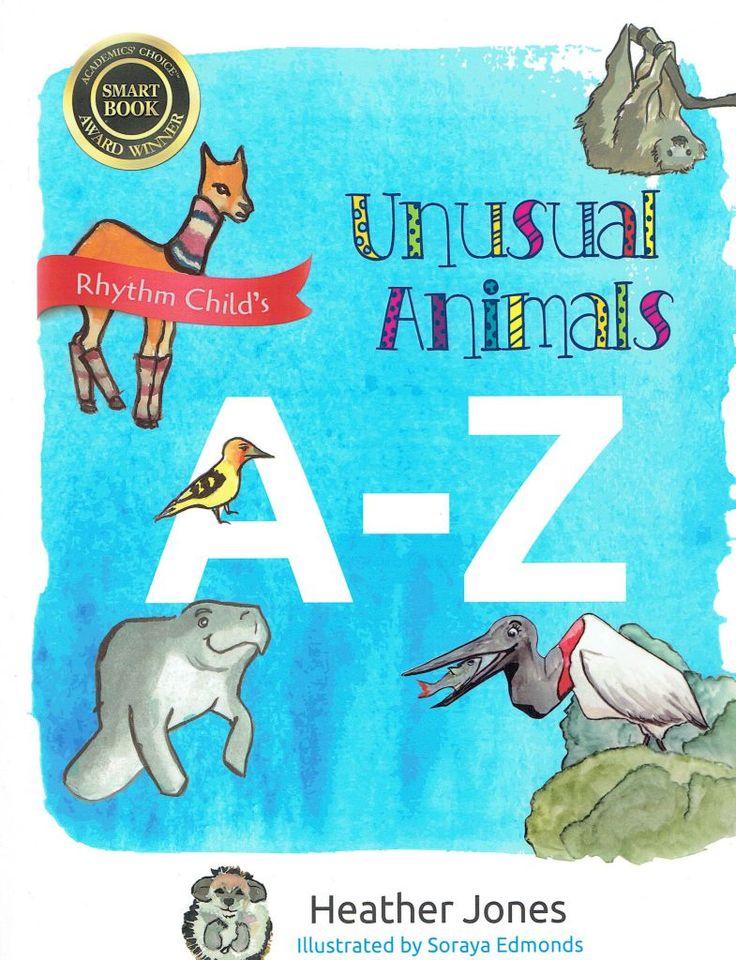 Unusual Animals AZ Cute Kids Picture Book About Unique Animals