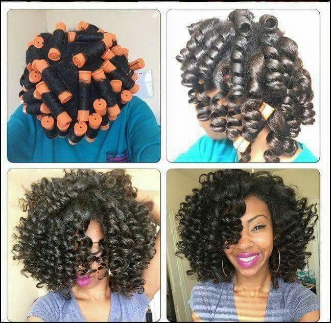 Jumbo Perm rod set