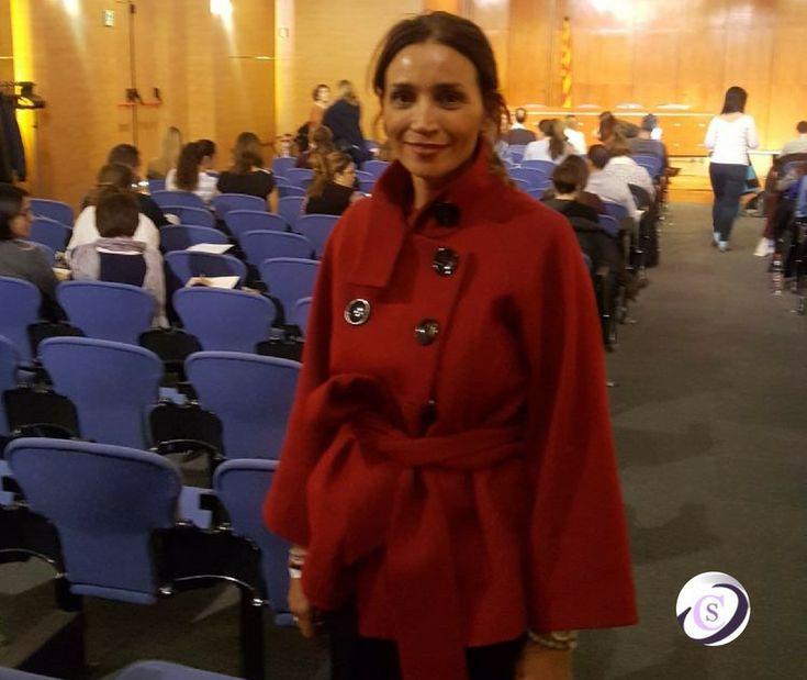 Carmen Sancho asiste al Seminario Clínico Anorexia Juvenil de Giorgio Nardone