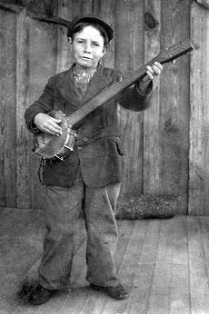 Young Banjoist