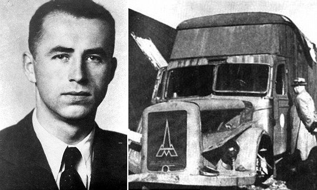 """#DailyMailUK ..... """"Alois Brunner, who was responsible for the deaths of an estimated 130,000 Jews, died in 2001 at the age of 89, locked up in a squalid Damascus basement living off rations.""""... http://www.dailymail.co.uk/news/article-4108854/Nazi-war-criminal-Alois-Brunner-invented-mobile-gas-vans-kill-Jews-died-years-squalor-living-Syrian-cellar-revealed.html"""