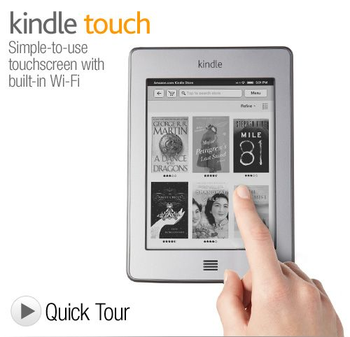 Kindle Touch - so much better than the original