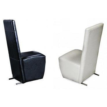Rock 0020 Leather Dining Chairs By Armani Xavira Room