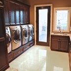 Southwestern Ranch - Traditional - Laundry Room - phoenix - by Calvis Wyant Luxury Homes