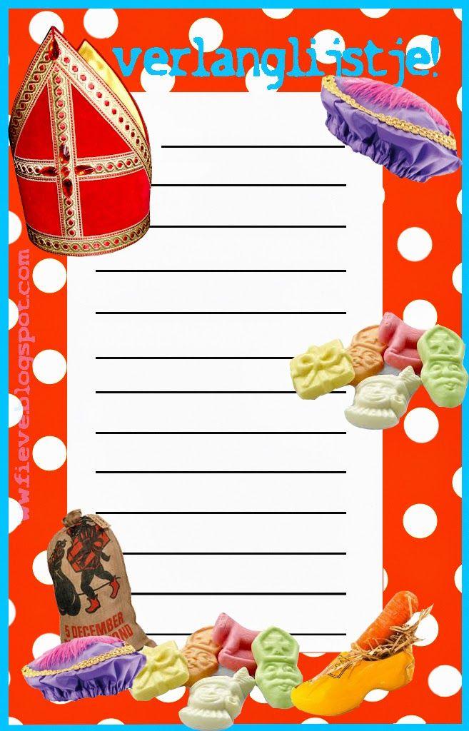 Fieve: verlanglijstje Sinterklaas!