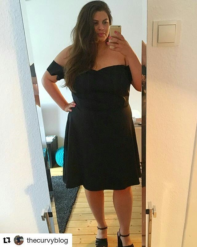 Dinner date dress!  #Repost @thecurvyblog (@get_repost)   Dinner date dress  My new LBD  Wishing all my fellow curvy bloggers lots of fun in Berlin at ffw- wish i was there with you  Now off to dinner  Check out my Instastory for a Short Video of my dress  #sponsored #cooperation @sammydress_official #fashion #fashionblogger #selfie #ootdplussize #lookoftheday #curvygirl #curvymodel #curvyblogger #curvesaresexy #girlwithcurves #lbd #photography #plussize #plussizefashion #plussizefashion…