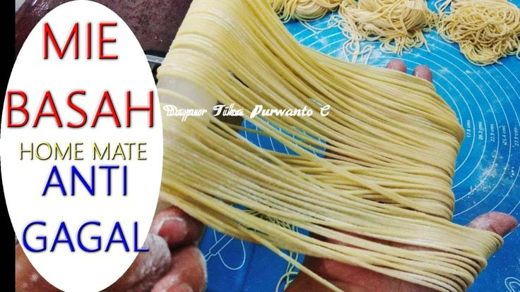 Resep Mie Anti Gagal Enak Dan Kenyal Anti Lengket Youtube Di 2020 Gagal