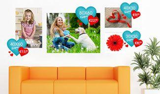 Foto auf Leinwand günstig und schnell   Fotoleinwand in Top-Qualität