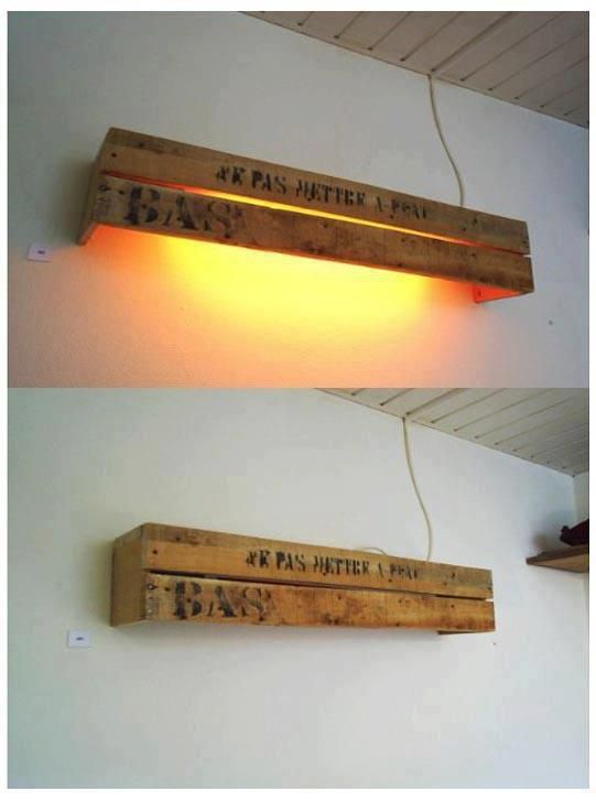Top 10 Best inventive ideas to recycle wood pallets into lamp - Recycled Lamp Wood Lamp