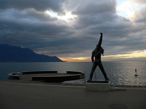 Freddie Mercury Monument at Montreux