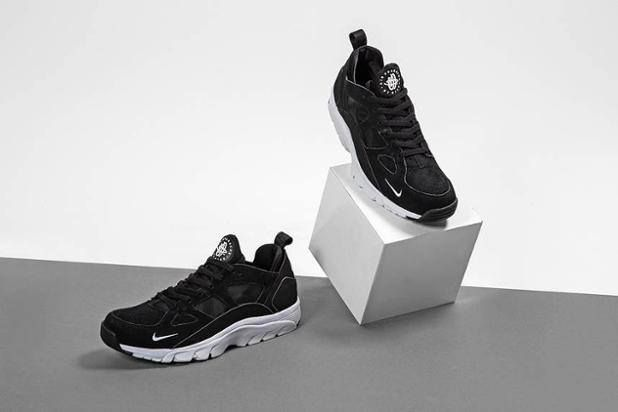 Closer look at the Nike Air Trainer Huarache Low Black. Available now.  http://ift.tt/1JSQyXs