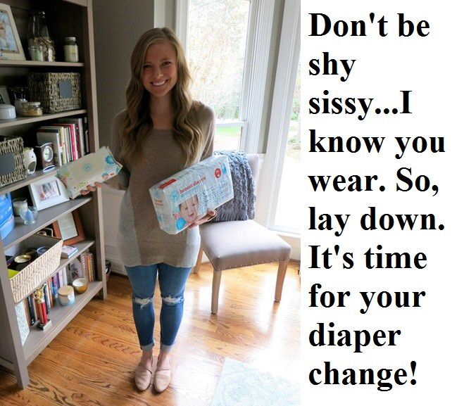 Balancing the baby joey diaper domination
