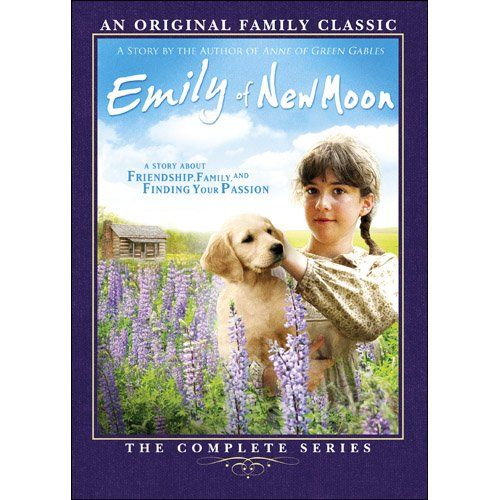 Emily Of New Moon: Complete Series  - (2010) Made for TV - 4 seasons - Martha MacIsaac, Sheila McCarthy, Stephen McHattie, Susan Clark, Richard Donat, Jessica Pellerin, Kris Lemche, Shawn Roberts, Phyllis Diller - Some plot ideas and characters from L.M. Montgomery but MOSTLY this series is badly written and has little to do with the Emily we know from the books. Acting is uneven. Sets and costumes are great.