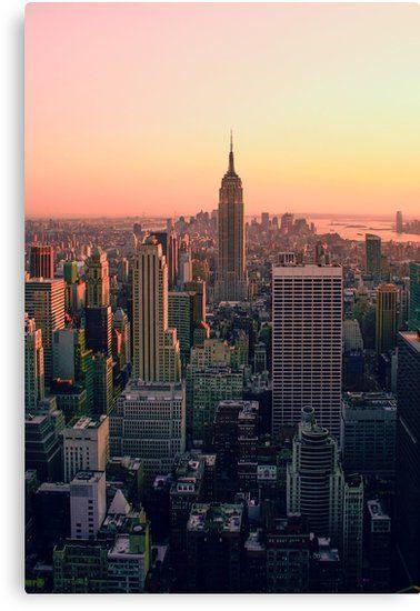 New York City Skyline | Canvas Print