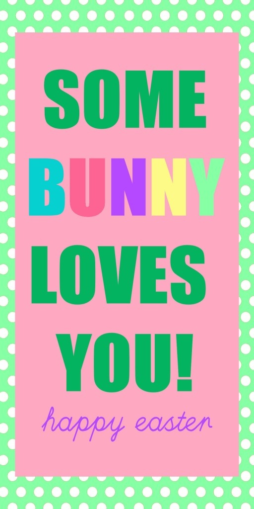Best 25 some bunny loves you ideas on pinterest silver penny some bunny loves you free printable for the gift mom dad get the kids negle Image collections