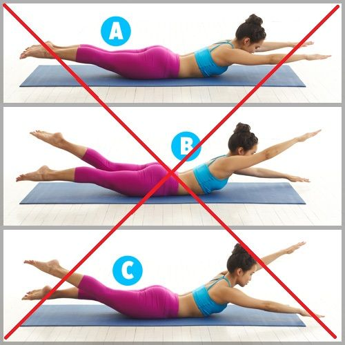 "Excercises to avoid with Spondylolisthesis   ""Swimming"" Pilates"